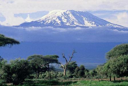 Снежная вершина Африки