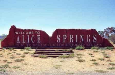 Австралия в Алис-Спрингс
