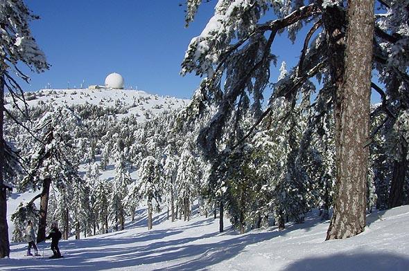 Горные лыжи на Кипре