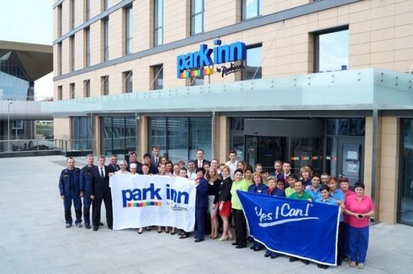 Новый отель Park Inn by Radisson открылся в аэропорту в Санкт-Петербурге