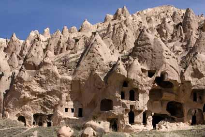 В Каппадокии обнаружен подземный город