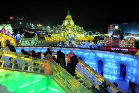 Ледовый город в Харбине