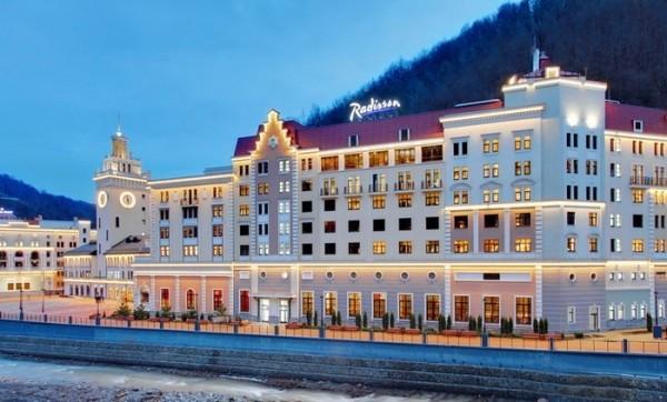 Отель Radisson Роза Хутор признан лучшим горнолыжным отелем