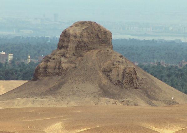 Дахшур в Египте