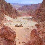Египет, экскурсия из Шарм эль Шейха в Цветной каньон