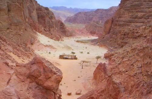 экскурсия в Цветной каньон