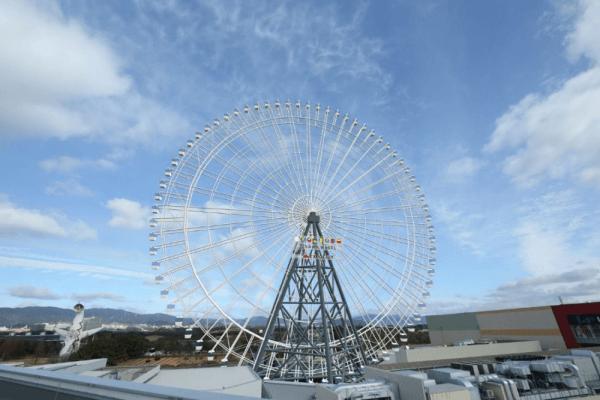 самое высокое в Японии колесо обозрения