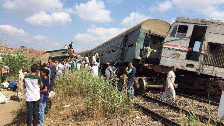 В столкнувшихся в Египте поездах