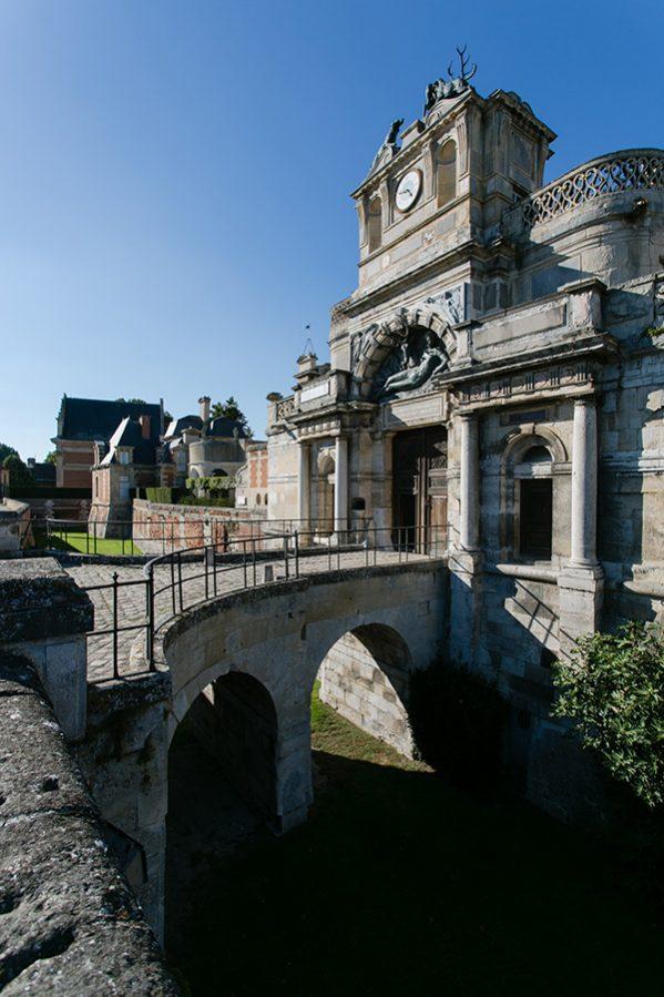 Замок-дворец Ане