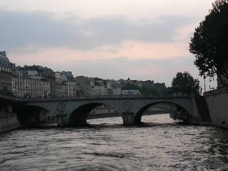 Прогулка по реке Сена