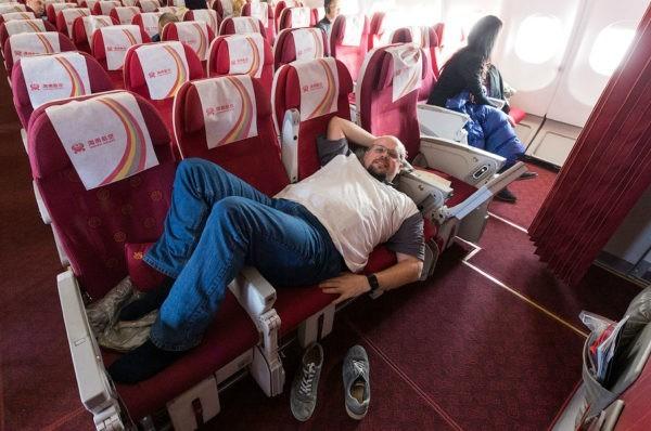 самое удобное место в самолете